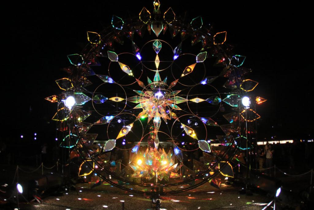 宇宙のキラメキ・インドラの網