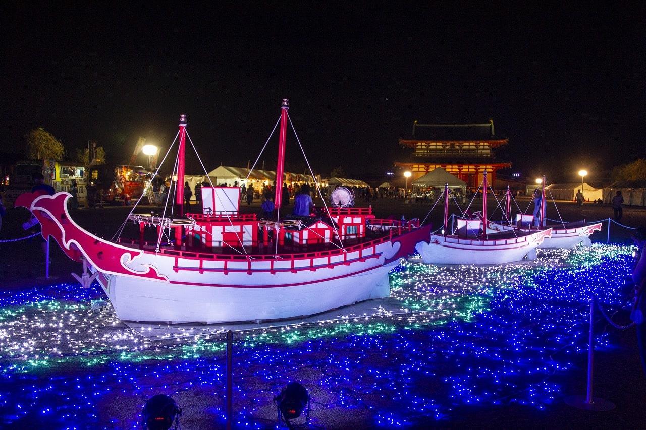 光の遣唐使船