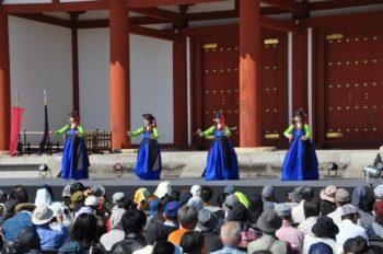 韓国の宮廷舞踊