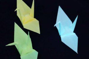 蓄光折り紙